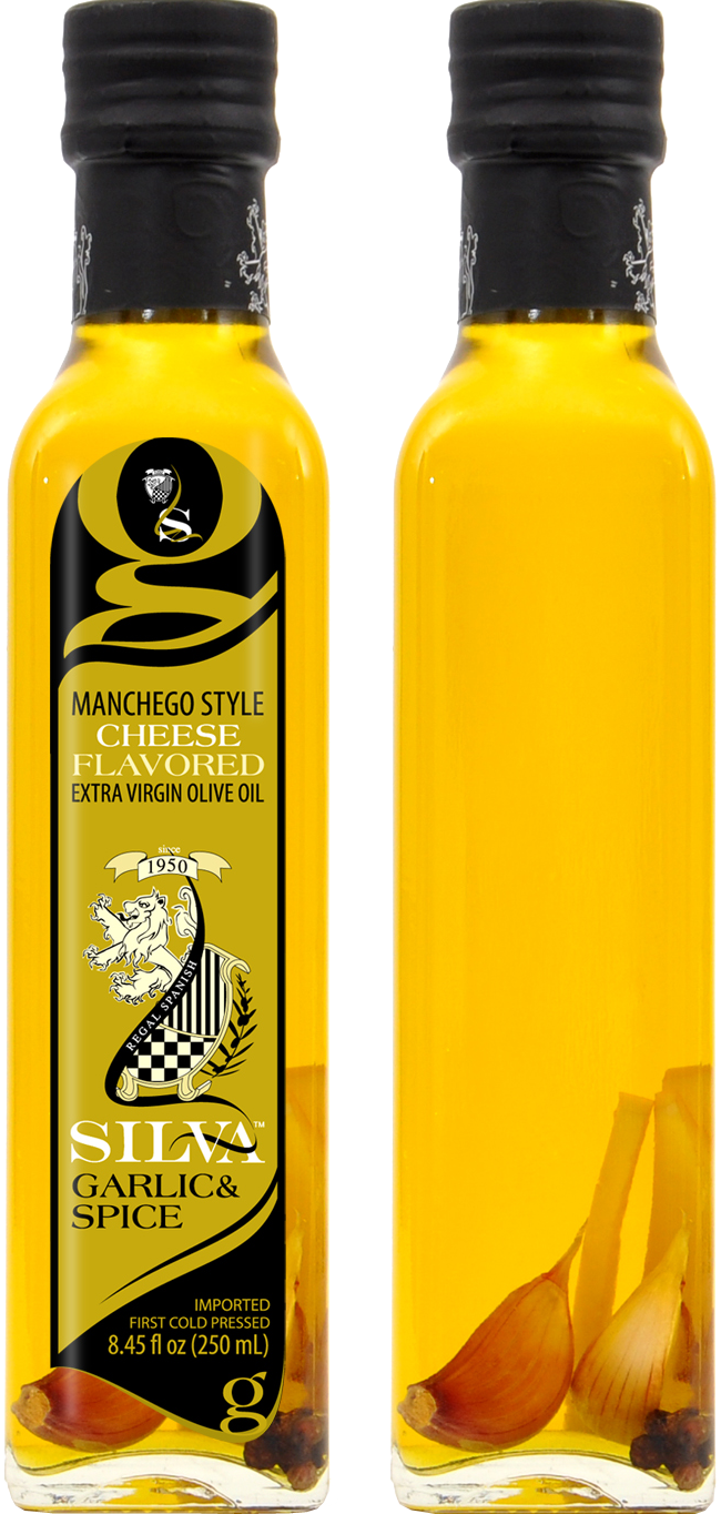 Silva Cheese Flavored Olive Oil Garlic & Spice