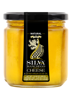SILVA MANCHEGO STYLE CHEESE IN OLIVE OIL ORIGINAL FLAVOR