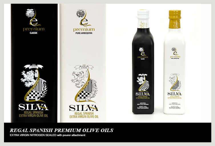 Silva Regal Spanish. Heritage Fine Food